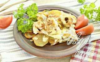 Запеканка из щуки с картофелем в духовке