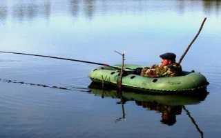 Бортовые удочки для ловли с лодки и их оснащение
