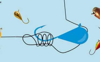 Как правильно привязывать мормышку к леске