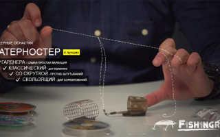 Петля гарднера – патерностер для фидера, как вязать, видео