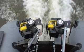 Подвесные лодочные моторы. обзор моделей российского производства