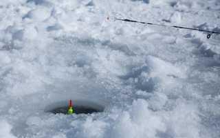 Зимний отводной поводок для удочки