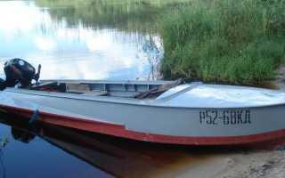 Технические характеристики лодки казанки