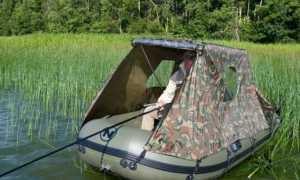 Изготовление тента на лодку пвх из подручных средств своими руками