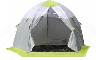 Палатки для зимней рыбалки назначение, виды и требования при выборе