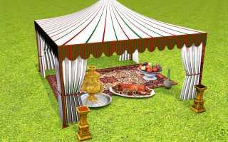 Доступный отдых с палаткой от компании декатлон