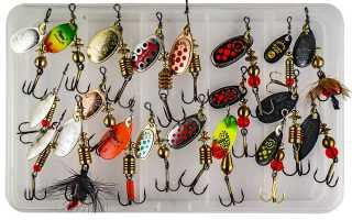 Блесна для рыбалки на окуня летом