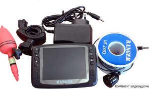 Удочки для рыбалки с видеокамерой