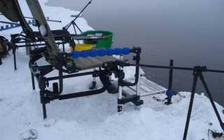 Ловим с комфортом! Какие есть раскладушки для зимней рыбалки?