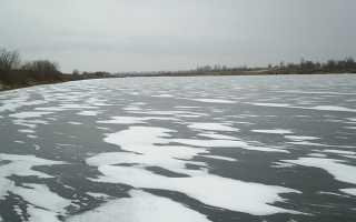 По первому льду за семь верст пойду, ловля рыбы в начале зимы