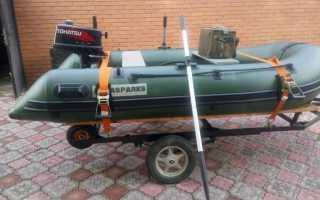 Делаем прицеп для лодки пвх