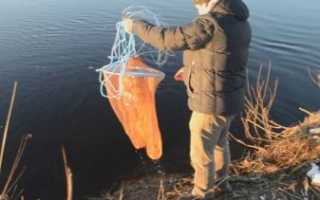 Как рыбачить кастинговой сетью и как её забрасывать правильно