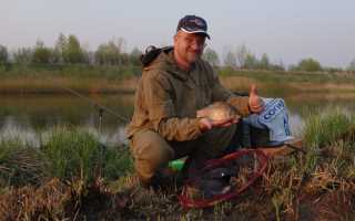Принципы весенней ловли карася с помощью поплавочной удочки