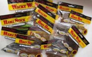 Новая наживка для рыбалки – съедобная резина лаки джон