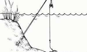 Летняя жерлица для ловли щуки