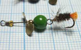 Техника вязания самой простой мушки нимфы для рыбалки