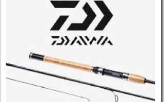 Daiwa whisker – мощные бланки для особых условий спиннинговой рыбалки